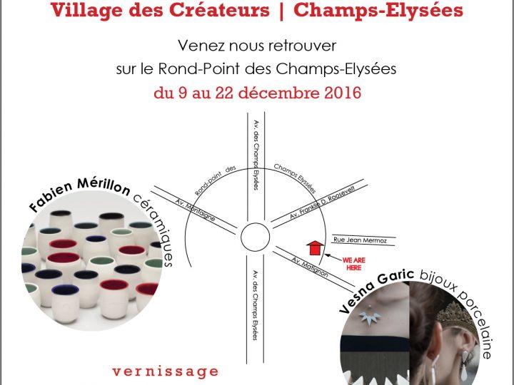 Marché de Noël des Champs Elysées | Paris | du 9 au 22 décembre
