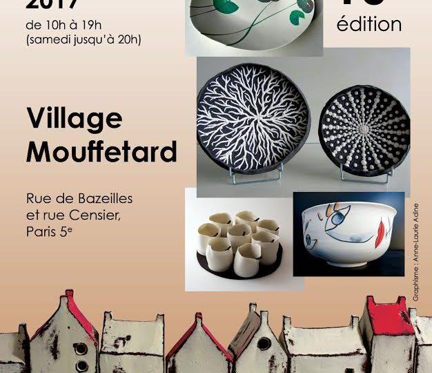 Festival Céramique Village Mouffetard | Paris | 10 et 11 juin 2017