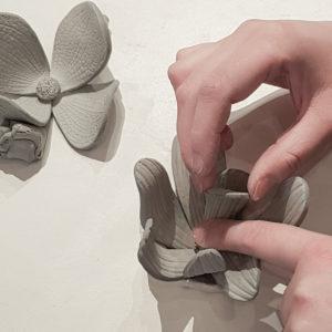 VesnaGaric EVJF Réalisation d'une fleur