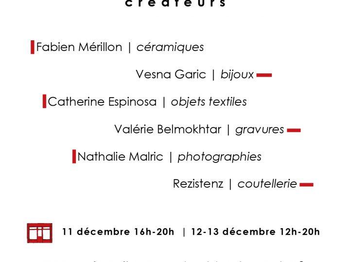 Vente de Noël à l'atelier | Paris