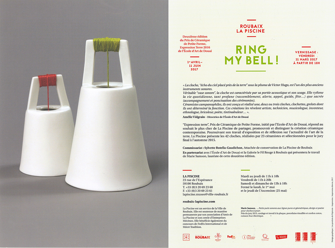 Exposition Ring My Bell La Piscine Roubaix