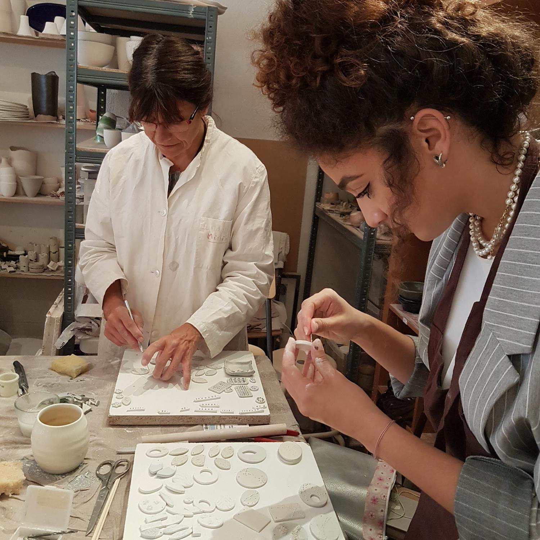 Vesna Garic Stages Création de Bijoux en Porcelaine