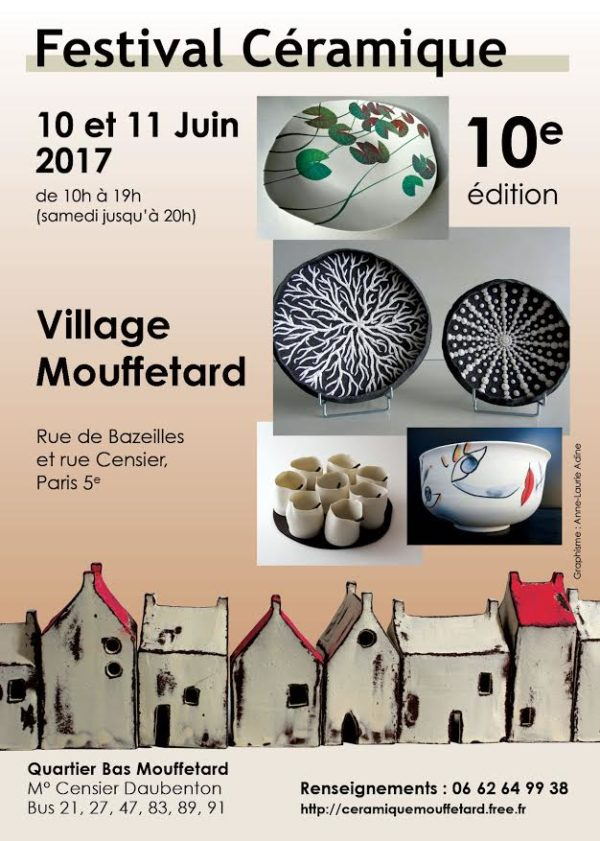 Festival Céramique Mouffetard 2017