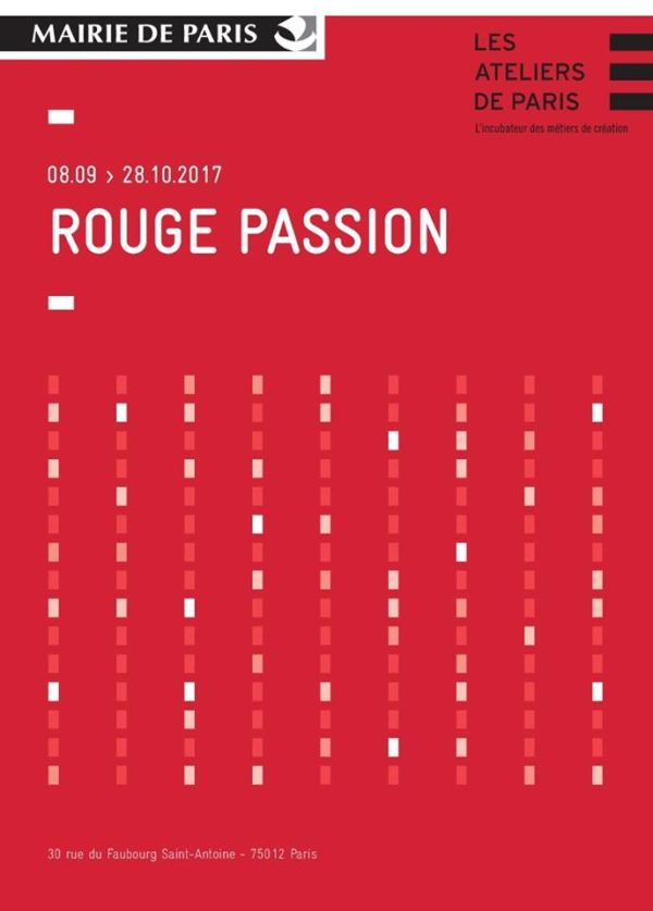 Exposition Rouge Passion | Les Ateliers de Paris