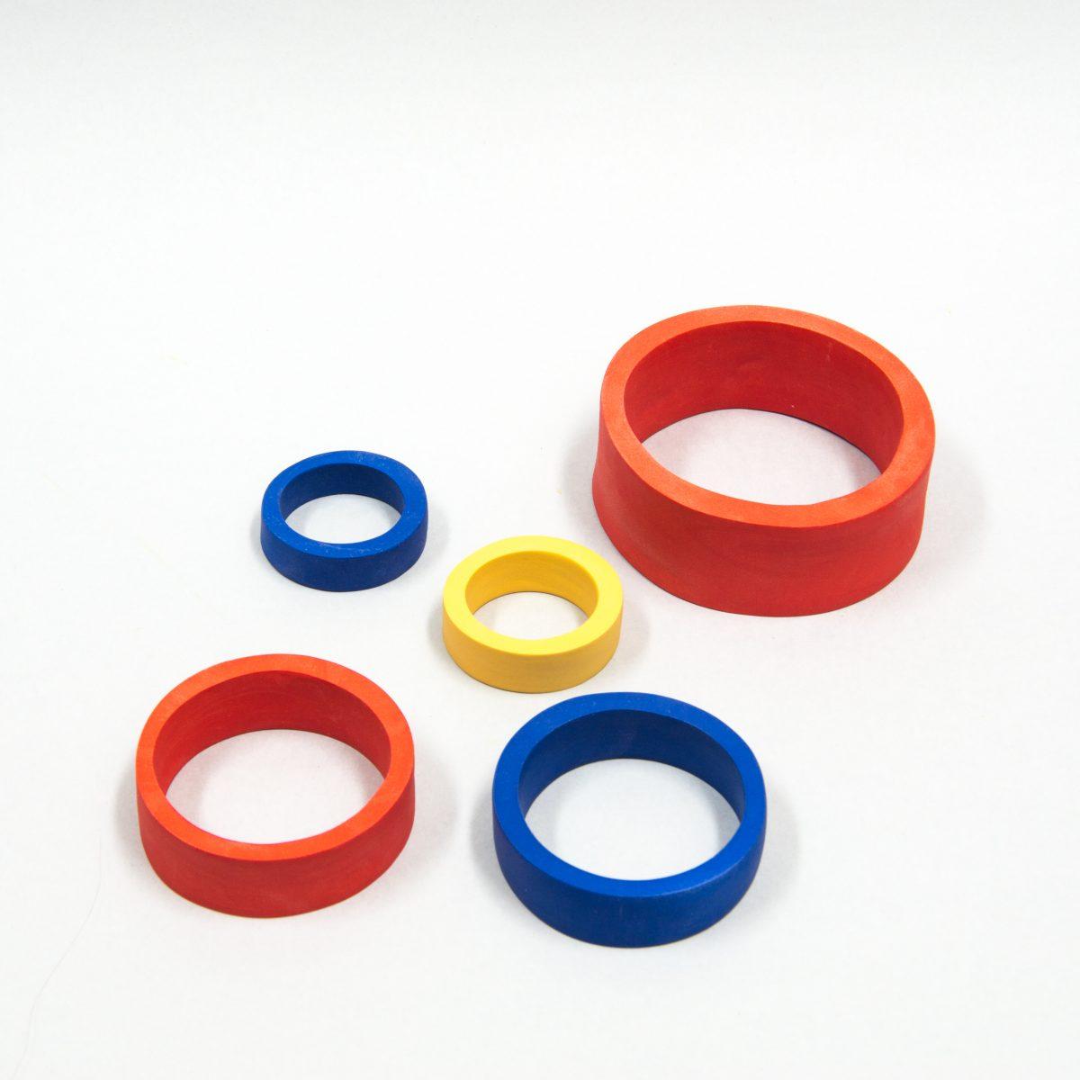 Vesna Garic - Composition Colored Circles