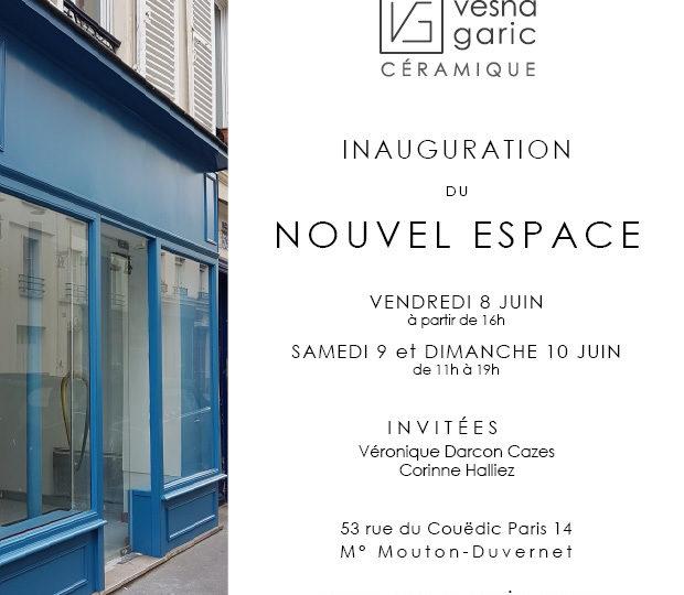 Inauguration du Nouvel Espace | Paris 14 | du 8 au 10 juin 2018