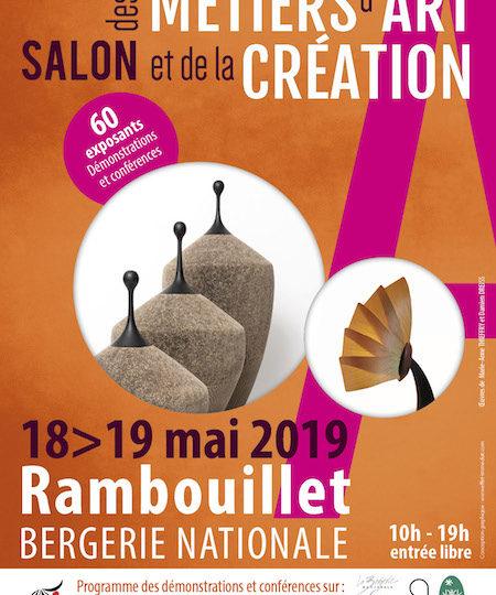 Salon des Métiers d'Art | Rambouillet – La Bergerie Nationale | 18 et 19 mai 2019