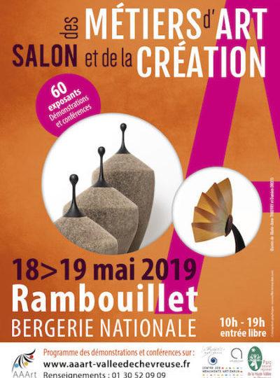 Salon des Métiers d'Art   Rambouillet – La Bergerie Nationale   18 et 19 mai 2019