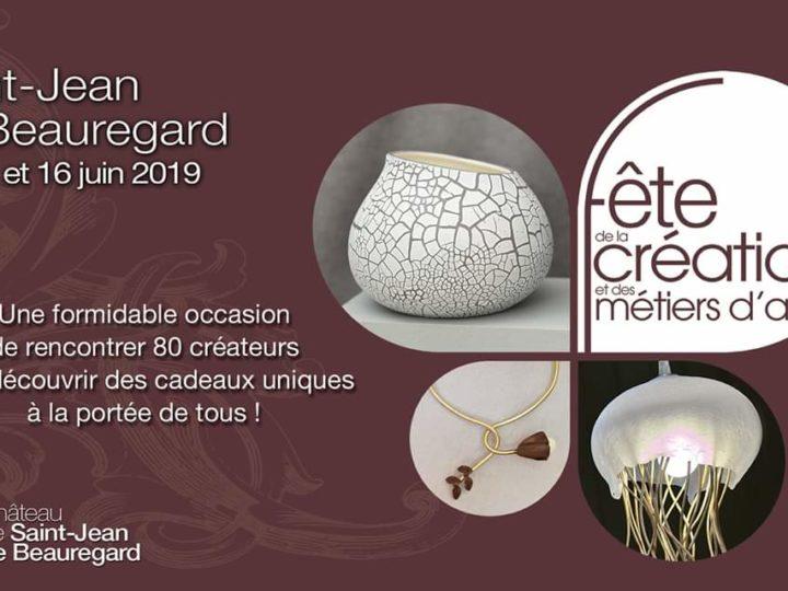 Fête de la Création et des Métiers d'Art | Saint-Jean de Beauregard | du 14 au 16 juin 2019