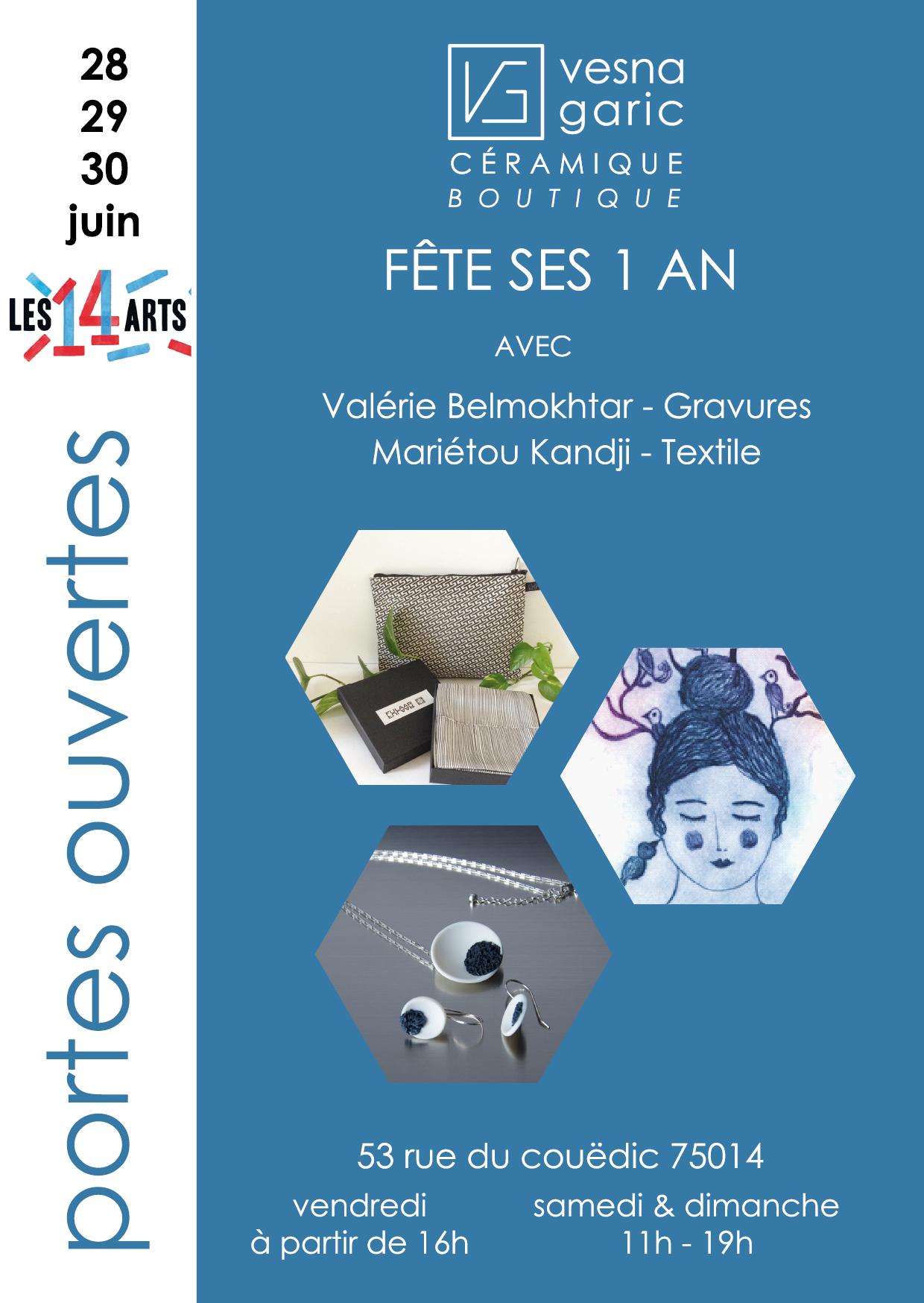 Flyer Anniversaire 14 ARTS