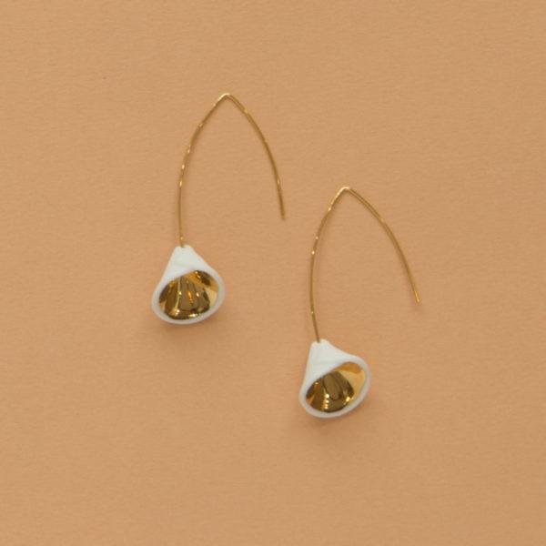 Boucles d'oreilles Arom Gold
