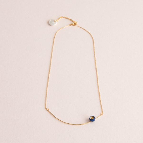 Collier-Arc-Léger-Perle-Bleu-Or-Caldy