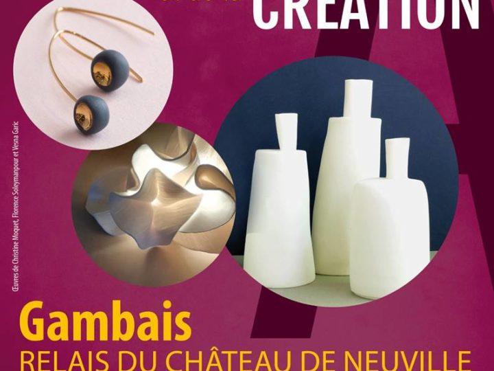 Fête de la Création et des Métiers d'Art | Gambais – Château de Neuville | 23 et 24 novembre 2019