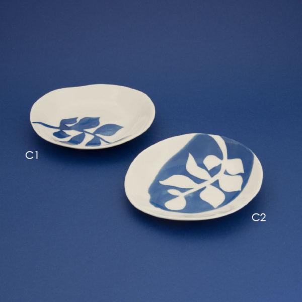Vesna-Garic-Ceramique-Collecition-M-Coupelles-bleu-blanc